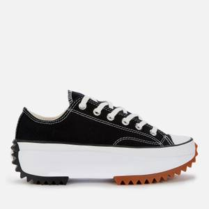 Converse Run Star Hike Platform Trainers - Black