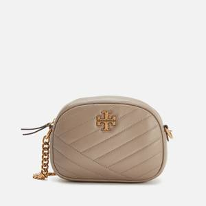 Tory Burch Women's Kira Chevron Small Camera Bag - Gray Heron