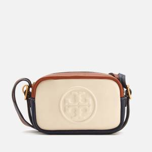 Tory Burch Women's Perry Bombe Double Strap Mini Bag - New Cream