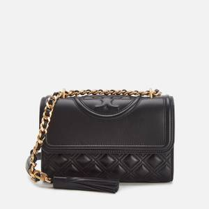 Tory Burch Women's Fleming Small Shoulder Bag - Black