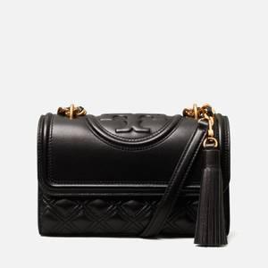 Tory Burch Women's Fleming Small Shoulder Bag - Black