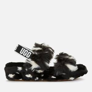 UGG Women's Oh Yeah Spots Slippers - Black