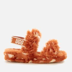 UGG Women's Oh Yeah Spots Slippers - Natural