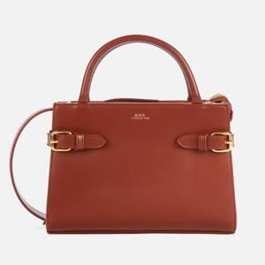 A.P.C. Women's Farrah Mini Bag - Brown