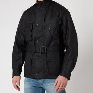 Barbour International Men's Winter Wax Jacket - Black