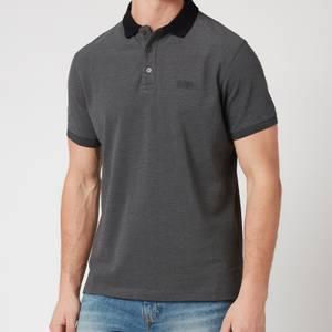 Barbour International Men's Contrast Polo Shirt - Black