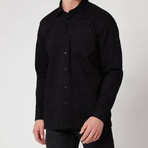 Barbour International Men's Patch Overshirt - Black