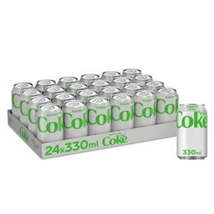 Diet Coke Sublime Lime 24 x 330ml