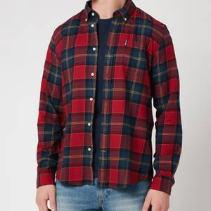 Barbour Tartan Men's 9 Tailored Shirt - Crimson