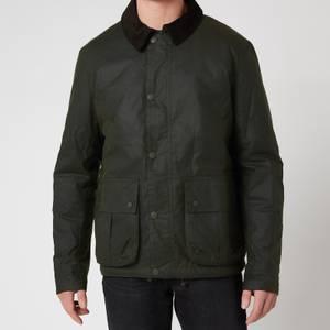 Barbour Stormforce Men's Allund Wax Jacket - Forest Green