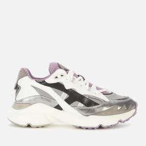 Tod's Women's Sportivo Running Style Trainers - Silver