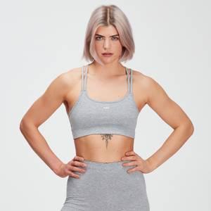 MP Women's Essentials Jersey Bra - Classic Grey Marl