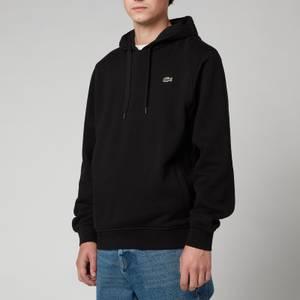 Lacoste Men's Sport Hooded Fleece Sweatshirt - Black