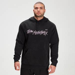 MP X Zack George Men's Washed Hoodie - Black