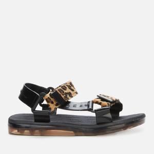 Melissa X Rider Women's Papete Sandals - Leopard