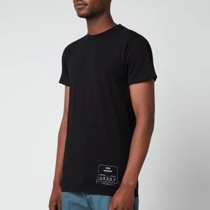 Maison Margiela Men's Patch Logo T-Shirt - Black