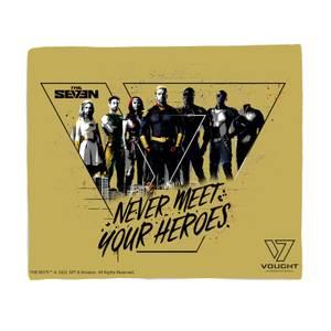 The Boys Never Meet Your Heroes Fleecedecke