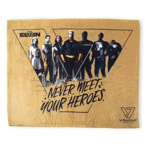 The Boys Never Meet Your Heroes Fleece Blanket