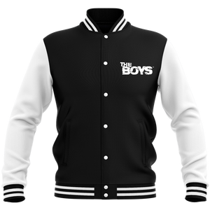 The Boys Veste Teddy Unisexe - Noir / Blanc
