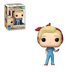 Parks & Rec- Leslie the Riveter Figura Funko Pop! Vinyl