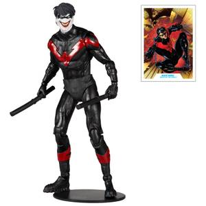 McFarlane DC Multiverse 7 Inch Nightwing Joker Action Figure