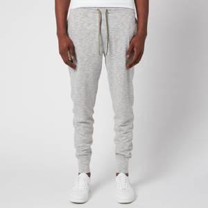 PS Paul Smith Men's Stripe Drawstring Jersey Pants - Grey