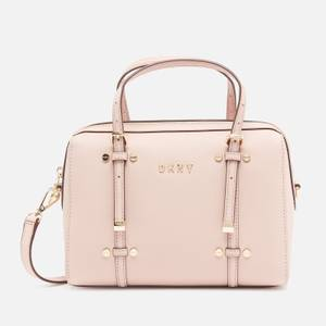 DKNY Women's Bo Small Barrel Bag - Rose/Gold