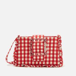 Shrimps Women's Charles Shoulder Bag - Red/Cream