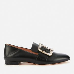 Bally Women's Janelle-Stra Leather Loafers - Black