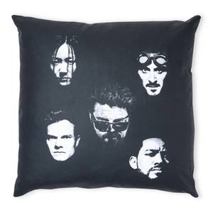 The Boys Heads Square Cushion