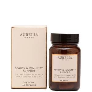 Aurelia Probiotic Skincare Beauty and Immunity Support Supplements (60 Capsules)