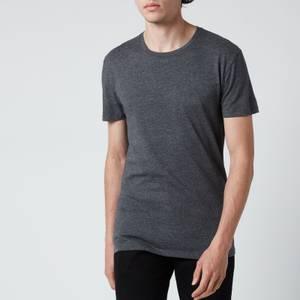 Polo Ralph Lauren Men's Cotton 3-Pack Crewneck T-Shirts - Navy/Charcoal Heather/White