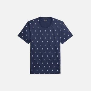 Polo Ralph Lauren Men's Liquid Cotton Printed Crewneck T-Shirt - Cruise Navy