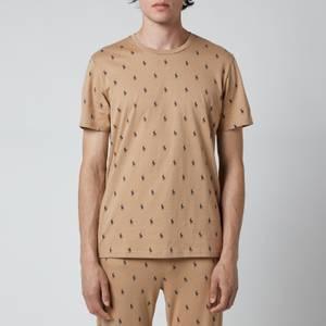 Polo Ralph Lauren Men's Liquid Cotton Printed Crewneck T-Shirt - Vintage Khaki