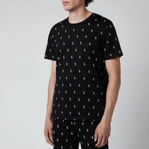 Polo Ralph Lauren Men's Liquid Cotton Printed Crewneck T-Shirt - Polo Black