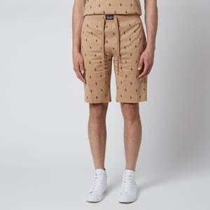Polo Ralph Lauren Men's Liquid Cotton Printed Slim Shorts - Vintage Khaki