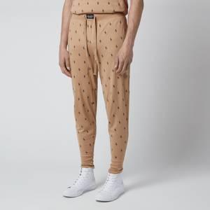 Polo Ralph Lauren Men's Liquid Cotton Printed Slim Jogger Pants - Vintage Khaki