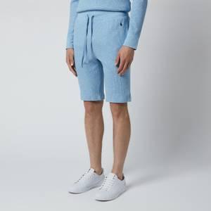 Polo Ralph Lauren Men's 40/01 Waffle Knit Shorts - New Powder Blue Heather