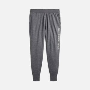 Polo Ralph Lauren Men's Loopback Jersey Jogger Pants - Charcoal Heather