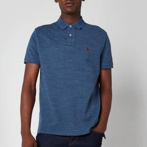 Polo Ralph Lauren Men's Custom Slim Fit Mesh Polo Shirt - Classic Royal Heather