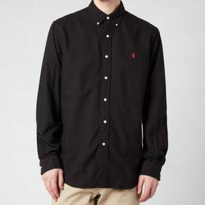 Polo Ralph Lauren Men's Custom Fit Oxford Shirt - Polo Black
