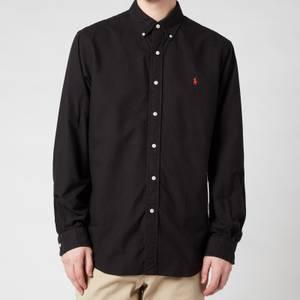 Polo Ralph Lauren Men's Custom Fit Oxford Shirt - Polo Black