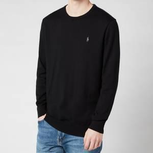 Polo Ralph Lauren Men's Slim Fit Cotton Sweater - Polo Black