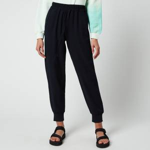 Whistles Women's Cuffed Crepe Jogger - Navy