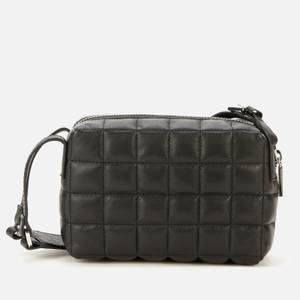 Whistles Women's Elias Quilted Crossbody Bag - Black