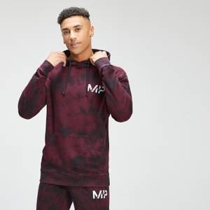 MP Men's Adapt Tie Dye Hoodie | Black/Merlot | MP