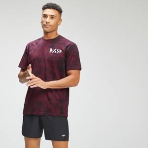 MP Men's Adapt Tie Dye Short Sleeve Oversized T-Shirt | Black/Merlot | MP