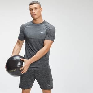 MP Men's Essential Seamless Short Sleeve T-Shirt - Dark Grey Marl