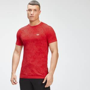 MP Men's Essential Seamless Graphic Short Sleeve T-Shirt - Danger
