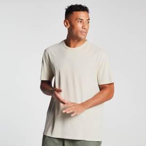 MP Men's Raw Training Short Sleeve Oversized T-Shirt - Ecru